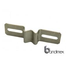 Кронштейны для щитов Bandimex с 9 мм пазами, из нержавеющей стали V2A